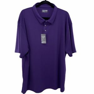🆕LINKS Edition Wisteria Purple Golf Polo Shirt